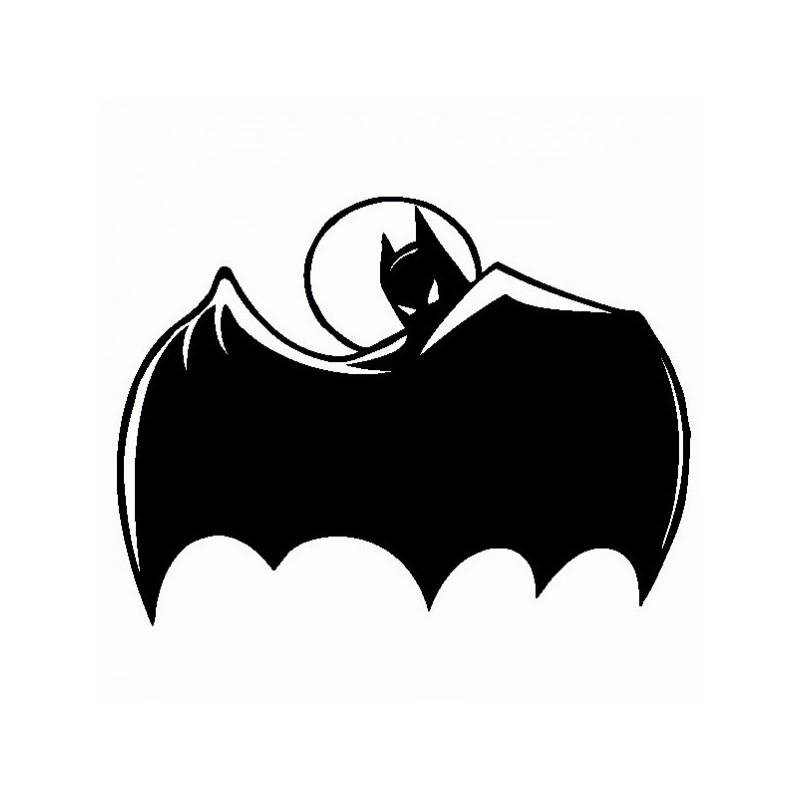 Batman - Adesivo Prespaziato