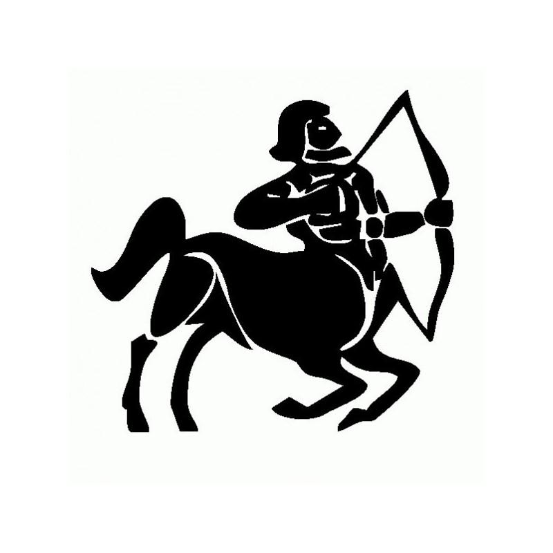 Sagittario - Adesivo Prespaziato - Zodiaco