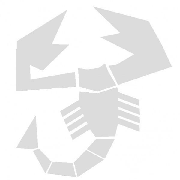 Abarth Stemma - Adesivo Prespaziato