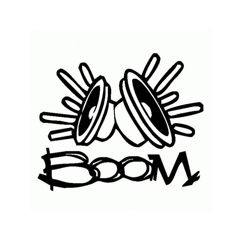 Boom - Adesivo Prespaziato