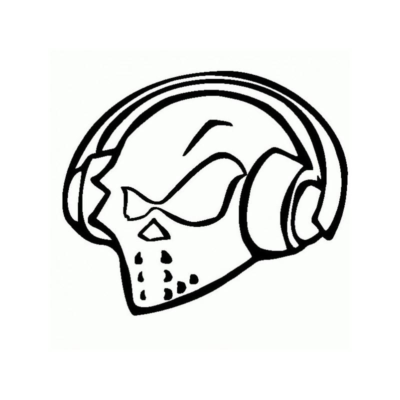 Ufo DJ - Adesivo Prespaziato