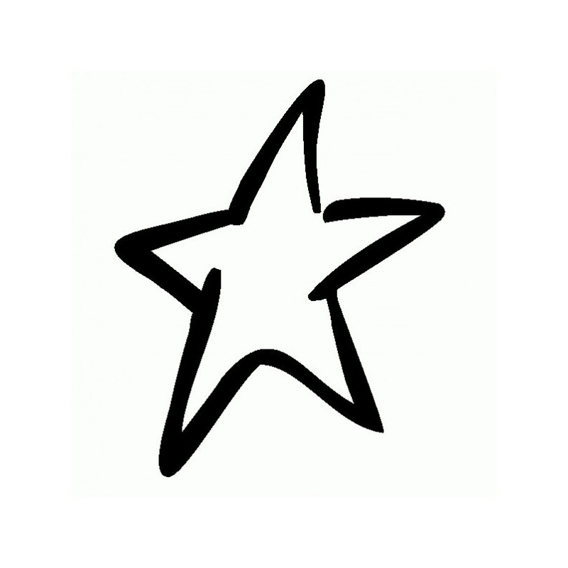 Stella - Adesivo Prespaziato