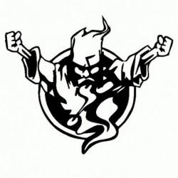 Thunderdome - Adesivo Prespaziato