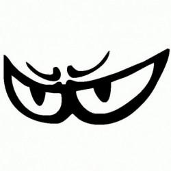 Occhi Berik - Adesivo Prespaziato