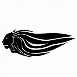 Aprilia Leone Logo - Adesivo Prespaziato