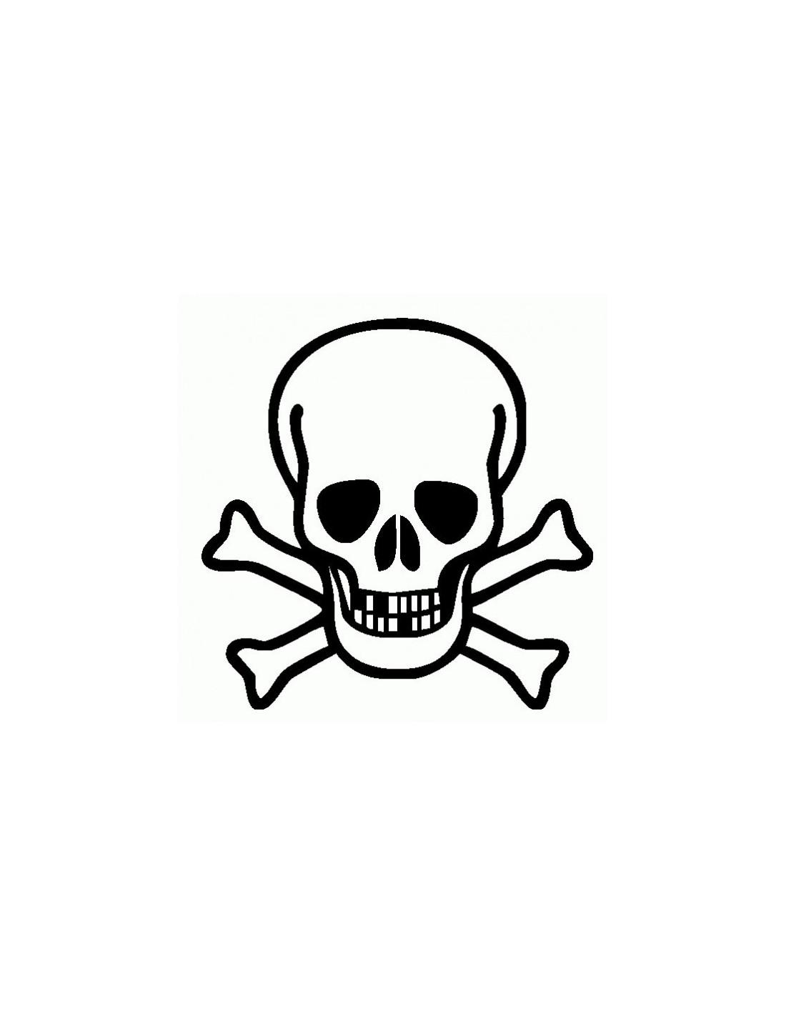 Immagini Di Teschio Pirati teschio pirati - adesivo prespaziato - adesivistore