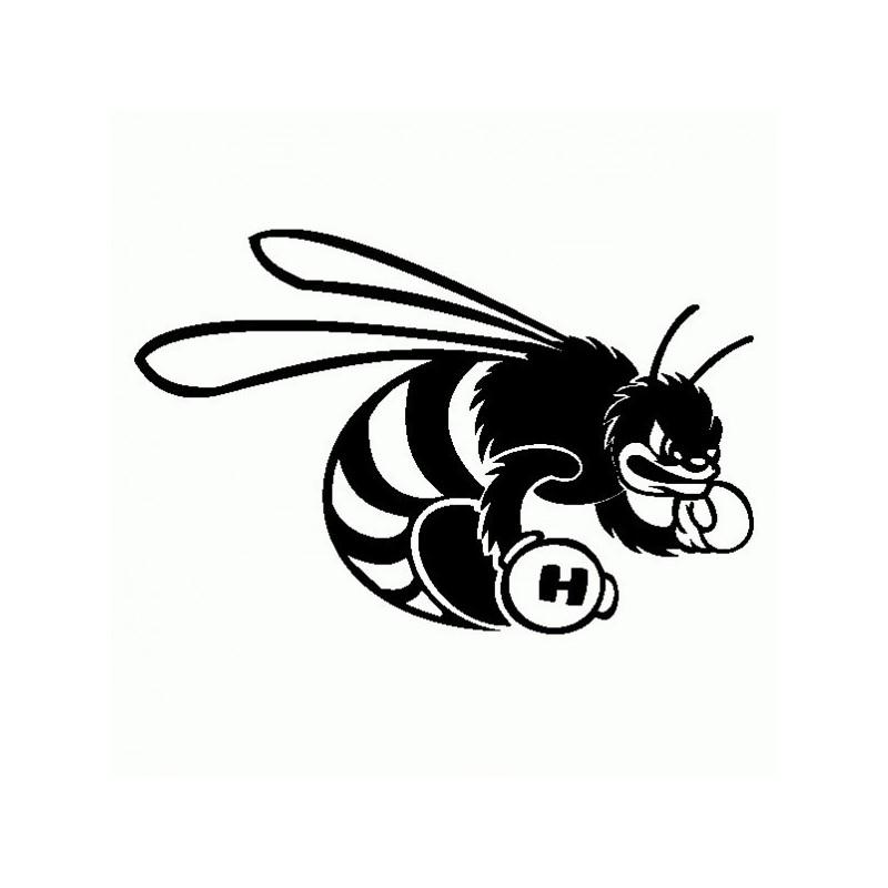 Ape Hornet - Adesivo Prespaziato