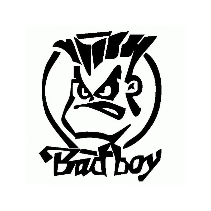 Bad Boy 1 - Adesivo Prespaziato