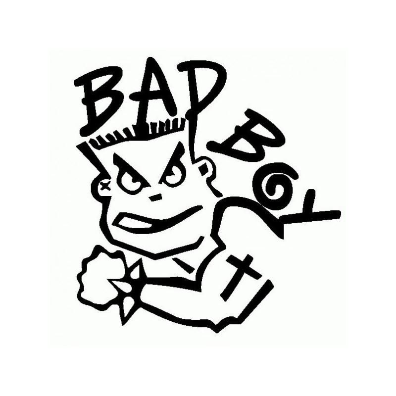 Bad Boy 2 - Adesivo Prespaziato