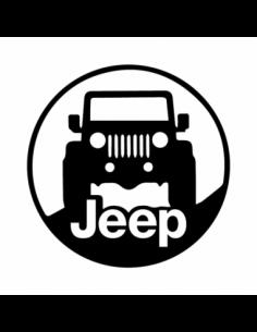 Jeep Cerchio - Adesivo Prespaziato
