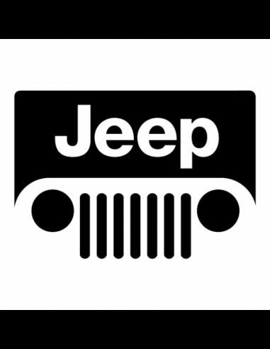 Jeep Logo 2 - Adesivo Prespaziato