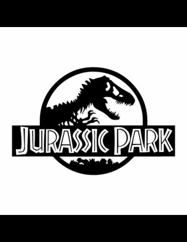 Jurassic Park - Adesivo Prespaziato