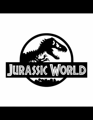 Jurassic World - Adesivo Prespaziato