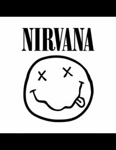 Logo Gruppo Nirvana - Adesivo Prespaziato
