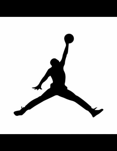Logo Nike Air Jordan - Adesivo Prespaziato
