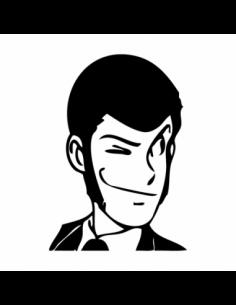 Lupin Occhiolino - Adesivo Prespaziato