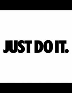 Nike Just Do It - Adesivo Prespaziato