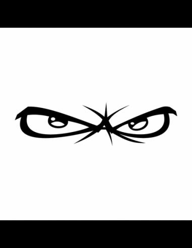 Occhi No Fear - Adesivo Prespaziato
