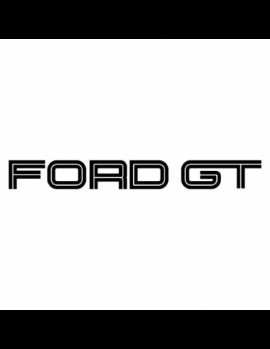 Scritta Ford GT - Adesivo Prespaziato