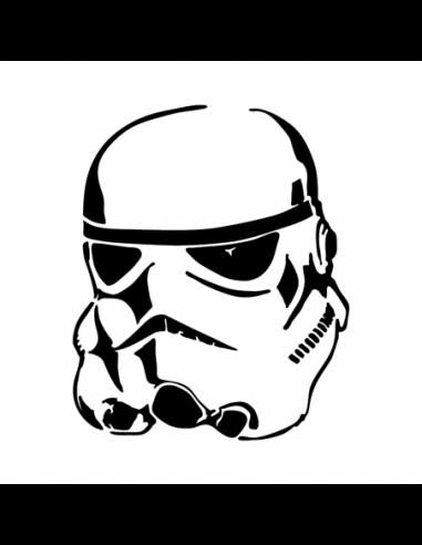 Stormtrooper Star Wars - Adesivo Prespaziato